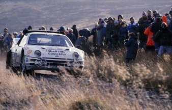 1986 RAC Rally - Lovell